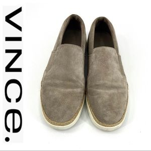 💕SALE💕 Vince. Tan Suede Loafers
